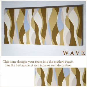 厚型軽量/ファブリックパネル/N5-WAVE/9...の商品画像
