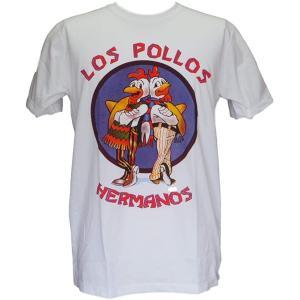 送料無料 ブレイキングバッド Los Pollos ガス・フリング ハイゼンベルグ セレクトTシャツ...