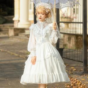 ロリータ Lolita レディースレースドレス ワンピース ...