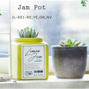 ジャム瓶をイメージしたポットシリーズ ジャム・ポット  ストロベリー/レモン  アリスの時間