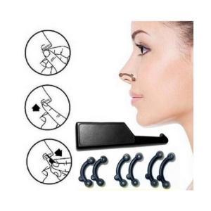 鼻 高く 鼻ぷち 送料無料 矯正 小顔効果がある小物雑貨 鼻筋 プチ整形(XS/S/M)3サイズセット/鼻を傷めない優しいシリコンコーティング