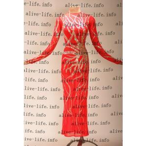 社交ダンス衣装 社交ダンスドレス モダンドレス デモ用ドレス セミオーダードレス ラテンドレス ワンピース WL392|alive-life