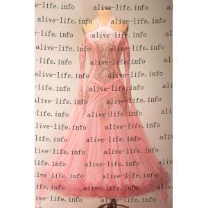 社交ダンス衣装 社交ダンスドレス モダンドレス デモ用ドレス セミオーダードレス ラテンドレス ワンピース WB3922|alive-life