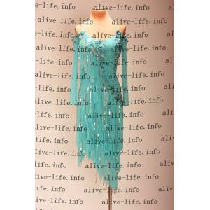 社交ダンス衣装 社交ダンスドレス モダンドレス デモ用ドレス セミオーダードレス ラテンドレス ワンピース WL396|alive-life