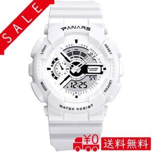 腕時計 女の子 運動腕時計 デジタル表示 LEDライト付き アラーム ストップウォッチ機能 50M防水 運動会 入学式|all-box-1-100