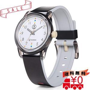 [シチズン Q&Q] 腕時計 アナログ スマイルソーラー マッチングスタイル 防水 ウレタンベルト RP26-010 メンズ ブラ|all-box-1-100