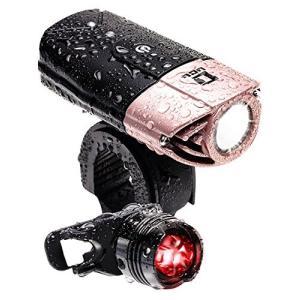 【 50メートル先まで ギラッと照らす 】 LICLI 自転車ライト 防水 USB 充電式 明るい LED ヘッドライト 前照灯 日本|all-box-1-100