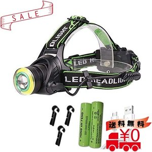 HongShengan ヘッドライト USB充電式|all-box-1-100