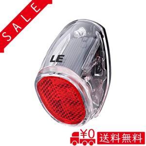 LE ソーラー充電 LED自動点滅テールライト セーフティライト サイクルライト 防水 自転車 リフレクター リア|all-box-1-100