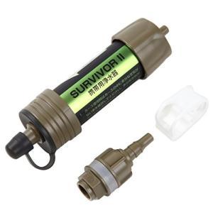 99.9999% の異物・バクテリアを除去 ミニ携帯用浄水器 災害時 登山 ハイキングに ペットボトルに接続可で使いや|all-box-1-100