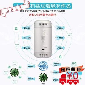 オゾン発生器 脱臭機 オゾン脱臭機 ミニ空気清浄機 脱臭 小型脱臭機 マイナスイオン USB充電式 負イオン発生器|all-box-1-100