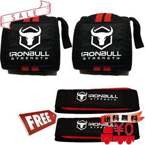 Iron Bull Strength リストラップ&リフティングストラップ コンボ リストストラップ|all-box-1-100