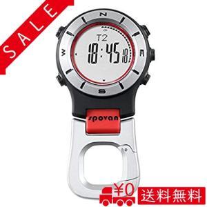 腕時計 ポケットウォッチ クリップウォッチ アウトドア 高度計 気圧計 デジタルコンパス 温度計 天気予報 登山|all-box-1-100