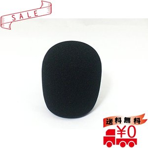 [GONKISS] マイクスポンジ カバー 大 マイク風防 ウィンドスクリーン コンデンサーマイク ...