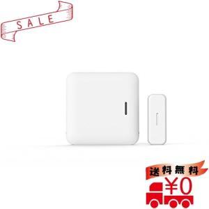 窓の戸締まりをスマホで一括チェック、スマート窓センサーleafee mag(ホワイト)|all-box-1-100