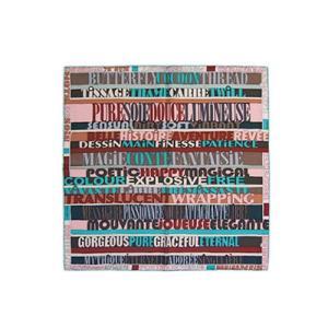 HERMES エルメス カレ シルクツイル ミニスカーフ カレ 45CMS シルク100% Mots de Soie エメラルドグリーン/ローズ/セピア H892657S02 all-brand