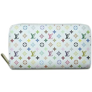 LOUIS VUITTON ルイ・ヴィトン マルチカラー ジッピー・ウォレット 財布 ブロン×リッチ(ピンク) LV M60241 all-brand