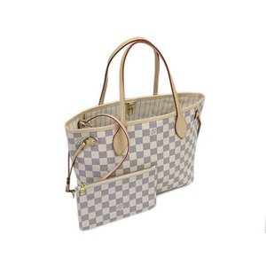 LOUIS VUITTON ルイヴィトン ダミエ・アズール トートバッグ ポーチ付き ネヴァーフルPM  LV N41362|all-brand