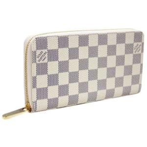 LOUIS VUITTON ルイヴィトン ダミエ・アズール 長財布 ジッピーウォレット 12枚カード LV N41660|all-brand