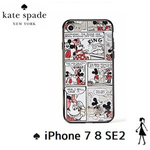ケイトスペード kate spade  NEW YORK FOR ミニーちゃん  IPHONE 7 8 ケース  8ARU2000 002|all-for-you