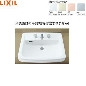 [L-2149]リクシル[LIXIL/INAX]はめ込み大形洗面器[オーバーカウンター式]|all-kakudai