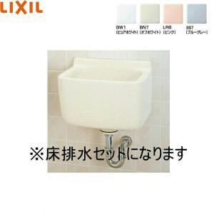 [S-21S+SF-21M(S)]リクシル[LIXIL/INAX]多目的流し[床排水セット][水栓なし]|all-kakudai