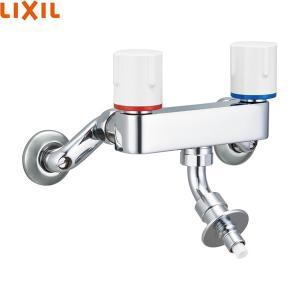 [SF-WL63RQAN]リクシル[LIXIL/INAX]緊急止水弁付2ハンドル混合水栓[寒冷地仕様]|all-kakudai