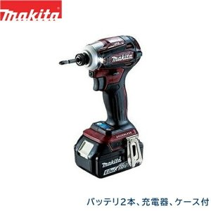 [TD172DGXAR]マキタ[MAKITA]充電式インパクトドライバ[リチウムイオンバッテリ][18V][オーセンティックレッド] all-kakudai