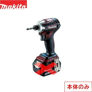 [TD172DZAR]マキタ[MAKITA]充電式インパクトドライバ・本体のみ[リチウムイオンバッテリ][18V][オーセンティックレッド] all-kakudai