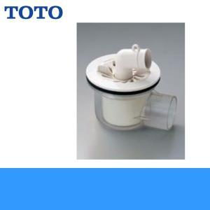 TOTO洗濯機パン用排水トラップPJ001[ABS製透明横引き]|all-kakudai