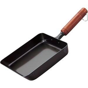 和平フレイズ 鉄 卵焼きフライパン 14×18cm 日本製 燕三 IH対応 EM-8285