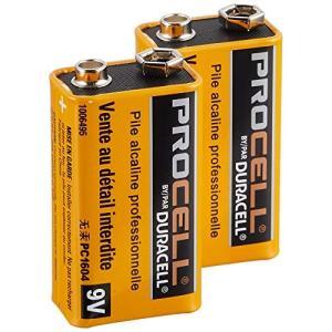 【DURACELL】PROCELL デュラセル プロセル 9V電池 エフェクター/楽器用アル
