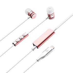 エアージェイ Apple(アップル) 認証 ライトニング接続イヤホン インナーイ