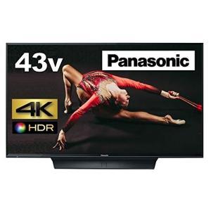 パナソニック 43V型 液晶テレビ ビエラ TH-43FX750 4K   2018年モデル