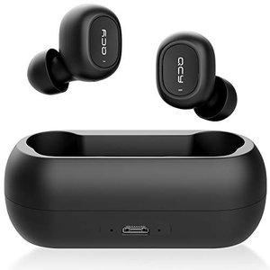QCY T1 Bluetooth 5.0 完全ワイヤレスイヤホン 自動ペアリング 自動ON/OFF