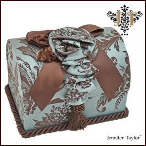 【 Jennifer Talor  ジェニファーテイラー 】 トランクボックス Carlisle カーライル  アメリカ カルトナージュ アンティーク調 32017BX|all-window