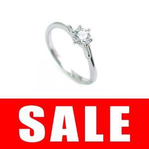 婚約指輪 エンゲージリング ダイヤモンド プラチナ リング...