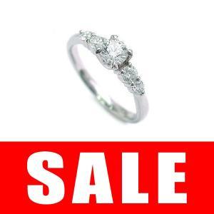 婚約指輪 エンゲージリング プラチナ ダイヤモンド リング...