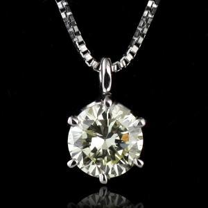 ネックレス ダイヤモンド 一粒 ネックレス シルバー ダイヤモンドネックレス ダイヤモンド ダイヤ 0.3カラット
