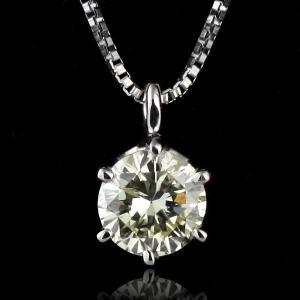 ネックレス ダイヤモンド 一粒 ネックレス プラチナ ダイヤモンドネックレス ダイヤモンド ダイヤ 0.7カラット 【10%オフ】