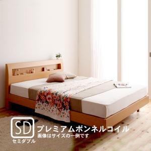 すのこベッド プレミアムボンネルコイルマットレス セミダブル|alla-moda