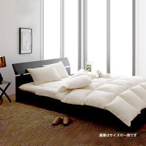敷布団×羽根布団10点セット 省スペースタイプ ダブル10点セット 9色|alla-moda
