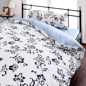 布団カバーセット シングル3点セット 20色柄 ベッド用 柄タイプ|alla-moda