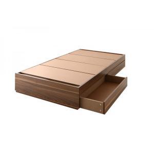 セミシングル 収納ベッド ベッドフレームのみ ショート丈|alla-moda