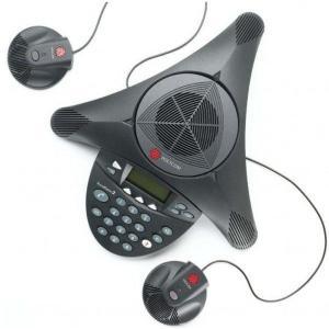 Polycom  PPSS-2/ 電話会議システム SoundStation2EX (拡張マイク接続可能モデル マイク同梱)