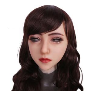 医療用シリコンを使用した超リアルな変装・女装用マスクです。 女子大生風のかわいい女の子に、あなたも変...