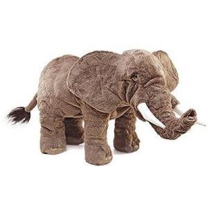 全長約70cm。フォークマニスのハンドパペットシリーズからアフリカゾウが登場! 口の開閉、鼻を曲げた...