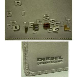 ディーゼル メンズ2つ折り財布 マネークリップ式 ライトグレー|allegrezza|06