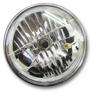 マルチリフレクターヘッドライト 180mm(180φ)(180パイ) 上質メッキ仕上げ 汎用品|alleguretto88jp