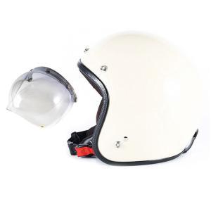 72JAM ジェットヘルメット&シールドセット JP MONO HELMET - オフアイボリー (...